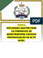 00 Diplomado Adiestramiento Canino
