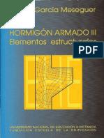 Hormigón Armado III; Elementos Estructurales - Álvaro García Meseguer.pdf