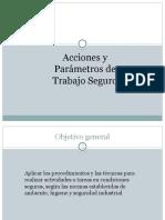 Acciones y Parametros de Seguridad_2016