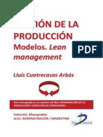 Gestión de La Producción Modelos Lean Management