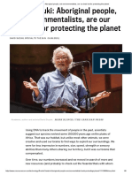 David Suzuki_ Aboriginal People, Not Environmentalists, Are Our Best Bet for Protecting the Planet