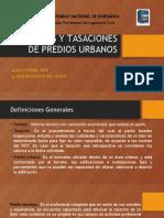 Peritajes y Tasaciones de Predios Urbanos 1