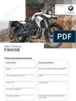 Instruction Manual F800GS
