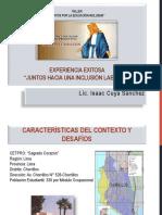 Experiencias de Lima Metropolitana