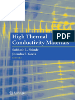 High Termal Conductivity Materials