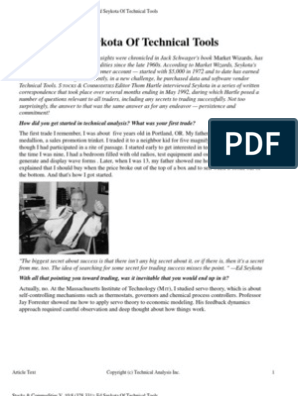 Ed seykota trading system pdf
