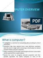 Computer Overview New