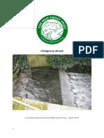 Chalgrove Brook Cuxham Weir Project Proposal Final