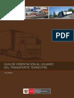 MINCETUR Guia Transporte Terrestre
