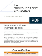 Orientation - Biopharmaceutics
