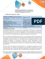 Syllabus Del Curso Geografía Económica