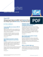 Ifrs Perspectives August 2017