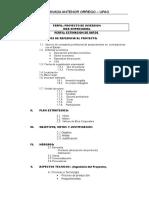 Perfil Proyecto de Inversion