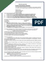 Lista Exercicios Recuperacao 2 Etapa 2016