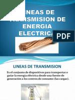 Lineas de Transmision de Energia Electrica