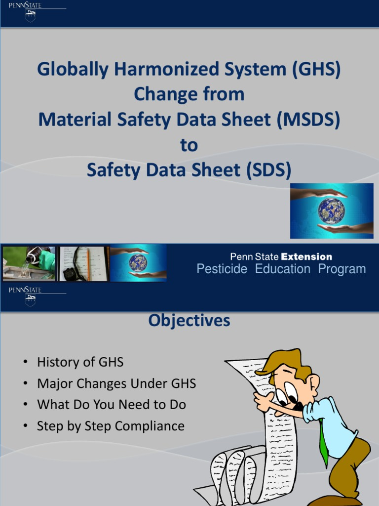 MSDS - Safety data sheet | Working Conditions | Labour Relations