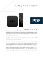El Apple TV 4K