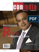 Silicon India August 10 - RW Cover Story