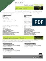 AV Price List 2017