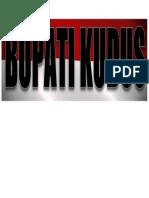 BUPATI KUDUS.docx
