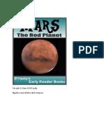 Sao Hỏa - Hành Tinh Đỏ, Sách Vũ Trụ Cho Trẻ Con
