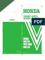 Gx240 Gx270 Gx340 Gx390 Workshop Manual
