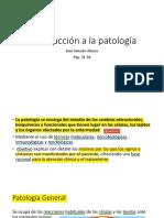 Patología general, capitulo 2 primera parte