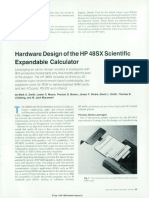 HP Journal 9106 Hardware Design of the HP-48SX Scientific Expandable Calculator