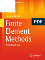 Jonathan Whiteley Auth. Finite Element Methods a Practical Guide
