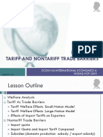 Lesson 04 Tariff and Non-Tariff Trade Barriers