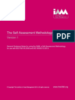 General Guidance Notes for Using the SAM a Self-Assessment Methodology for Use With BSI PAS 552008