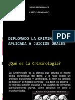 Diplomado La Criminalistica Aplicada a Juicios Orales