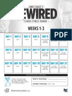Jamesgragerewired Calendar