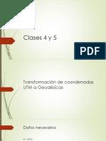Clases 4 y 5