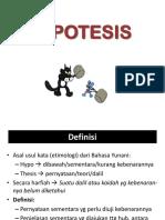 6-Hipotesis Penelitian