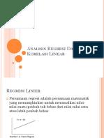 11Analisis Regresi Dan Korelasi Linear