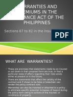 Warranties (1)
