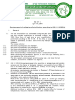 Sterilization Process ISO 11135:2014