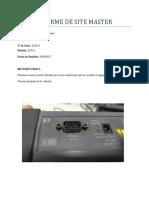 Informe de Site Master
