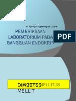 Pemeriksaan Laboratorium Pd Gangguan Endokrin