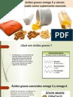 Eicosanoides, ácidos grasos omega 3 y cáncer.pptx
