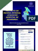 Proyecto de Mejora Integral Ayacucho 6-Vii-05