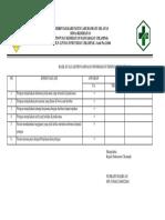 7.1.2.2 Hasil Evaluasi Terhadap Penyampaian Informasi Di t4 Pendaftaran