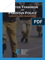 Counter Terrorism and Pakistan Police