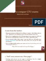 10 Steps to Conquer GTU Exams