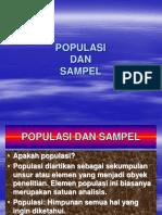 Populasi Dan Sample