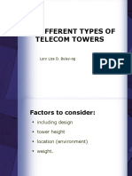 Types of Tower
