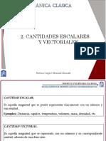 Unidad 2. Cantidades Escalares y Vectoriales_SA