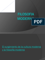 FILOSOFIA MODERNA DIAPOSITIVAS