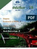 78 ICSI Mysore eNewsletter July 2010